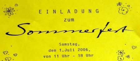 Sommerfest in Bremen