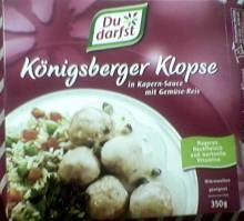 Verpackung der Königsberger Klopse von Du darfst