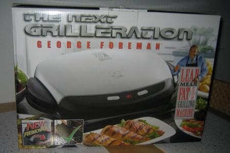 George Foreman Grill Grilling Machine