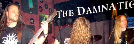 The Damnation - damals im Muckefuck 2006