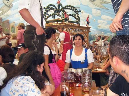 Oktoberfest 2007: Bedienung, Kapelle, Vollidioten