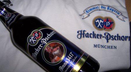 Hacker Pschorr Anno 1417 und T-Shirt