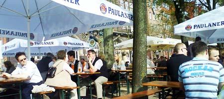 Die Schlachte in Bremen Ende April 2008