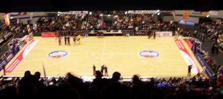 Eisbären Bremerhaven vs. Oldenburg Baskets im AWD Dome Bremen