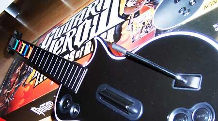 Guitar Hero III auf der PS3 - klemmende Les Paul