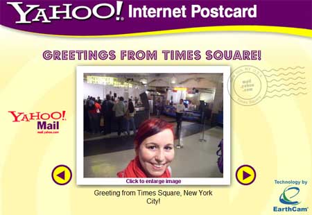 Yahoo Times Square New York