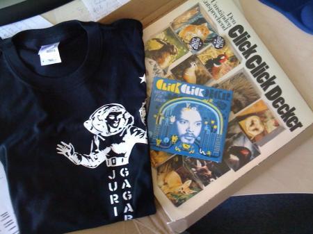Audiolith Bestellung: Juri Gagarin & ClickClickDecker