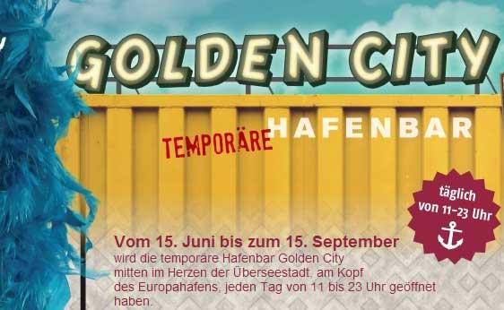 Golden City Hafenbar Bremen