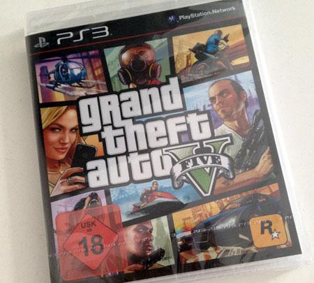 GTA5 für die PS3