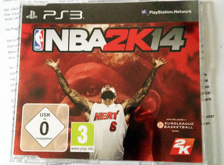NBA2K14 für die Playstation 3